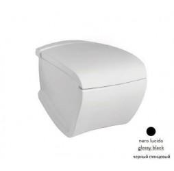 Подвесной унитаз ArtCeram Hi-Line HIV001 03; 00, цвет - черный глянцевый