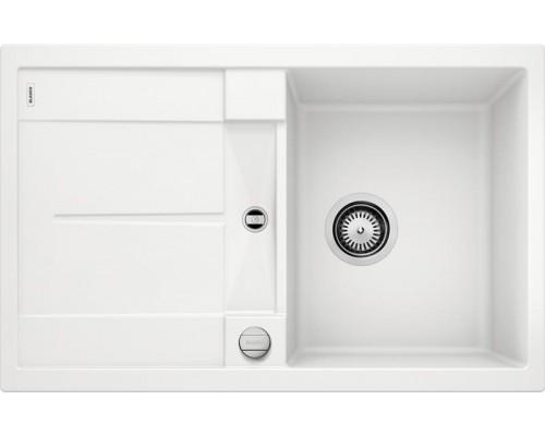Мойка Blanco Metra 45S, 513028, белый, SILGRANIT, 78 x 50 x 19 см