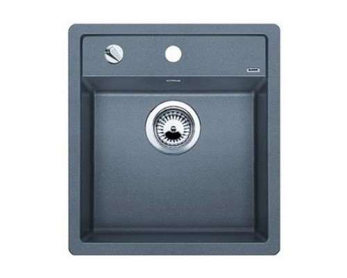 Мойка Blanco Dalago 45 F, 517167, алюметаллик, с клапаном-автоматом, 46,5*51 см