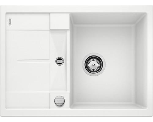 Мойка Blanco Metra 45S Compact, 519576, белый, SILGRANIT, 68 x 50 x 19 см