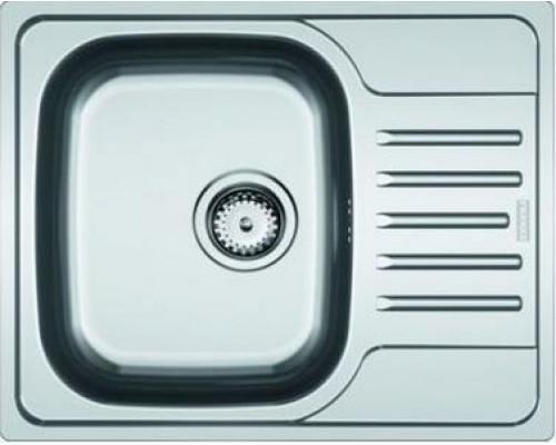 Мойка Franke POLAR PXN 611-60, 101.0192.873, установка сверху, оборачиваемая, нержавеющая сталь, матовая, 61,5*49 см