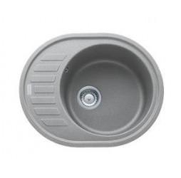 Мойка Franke RONDA ROG 611 С, 114.0192.531, гранит, установка сверху, цвет серый, 62*50 см