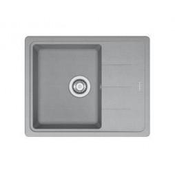 Мойка Franke BASIS BFG 611 C, 114.0280.871, гранит, установка сверху, оборачиваемая, цвет серый, 62*50 см