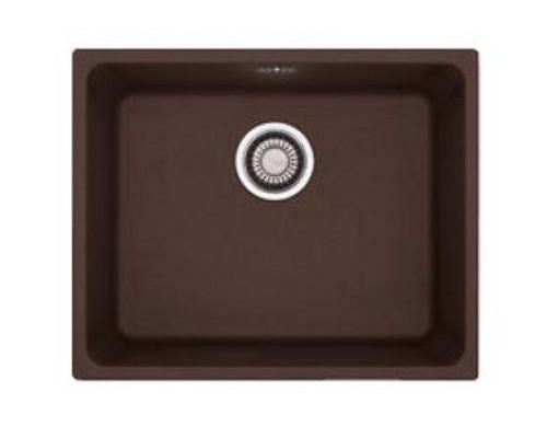 Мойка Franke KUBUS KBG 110-50, 125.0176.646, гранит, нижняя установка, цвет шоколад, 54*44 см