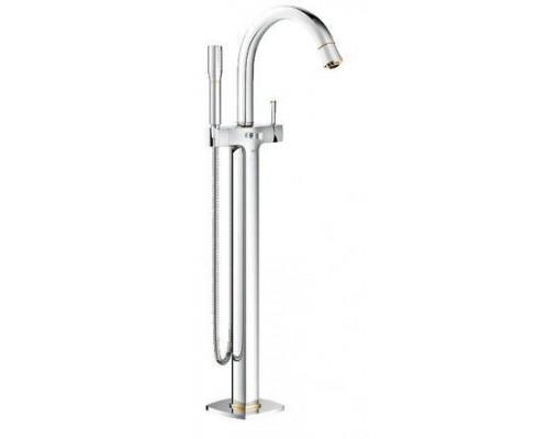 Смеситель Grohe Grandera 23318IG0 для ванны, напольный, хром/золото