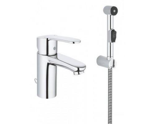 Смеситель для раковины Grohe Eurostyle Cosmopolitan 23549000, с гигиеническим душем, хром