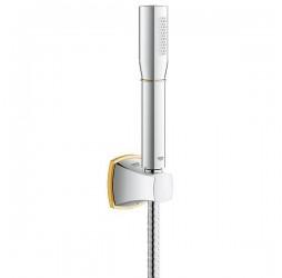 Душевой гарнитур Grohe Rainshower Grandera Stick 27993IG0, хром/золото