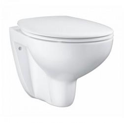 Унитаз подвесной Grohe Bau Ceramic 39351000, безободковый
