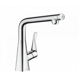 Смеситель Hansgrohe Metris Select 148838 для кухни (сталь)