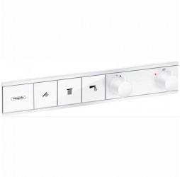 Смеситель для душа Hansgrohe RainSelect 15381700, 3 потребителя, термостатический, белый матовый