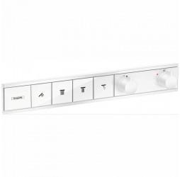 Смеситель для душа Hansgrohe RainSelect 15382700, 4 потребителя, термостатический, белый матовый