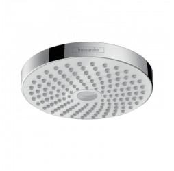 Верхний душ Hansgrohe Croma Select S 180 2jet EcoSelect, цвет хром/белый sntx