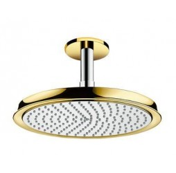 Верхний душ Hansgrohe Raindance Classic Air 240 27405090, хром/золото