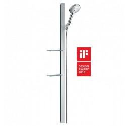 Душевой гарнитур Hansgrohe Raindance Select S 27646400, белый/хром
