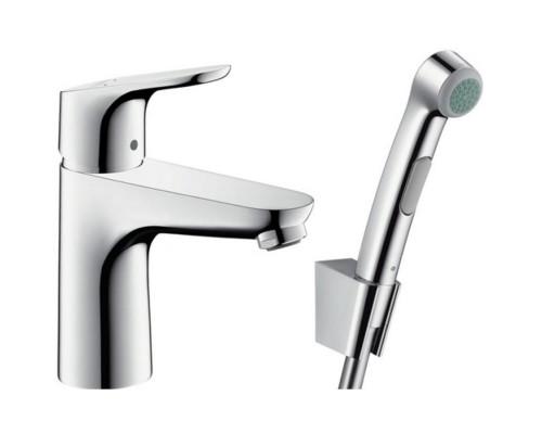 Смеситель Hansgrohe Focus 31927000 для раковины с гигиеническим душем