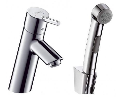 Смеситель Hansgrohe Talis S2 32140000 для раковины с гигиеническим душем