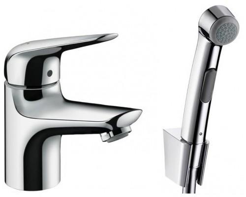 Смеситель Hansgrohe Novus 71144000 для раковины с гигиеническим душем