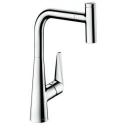Смеситель Hansgrohe Talis Select S 300 72821000 для кухонной мойки, сталь