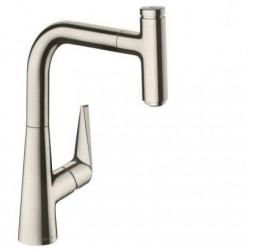 Смеситель Hansgrohe Talis Select S 220 72822800 для кухонной мойки, сталь