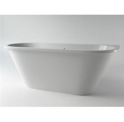 Ванна каменная Holbi Galatea Solid Surface 170x77 белый матовый