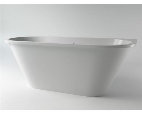 Ванна каменная Holbi Galatea Solid Surface 170x77, белая матовая