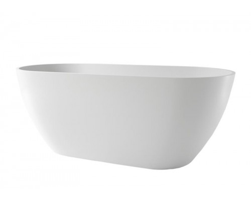 Ванна каменная Holbi Venus Solid Surface 170x80, белая матовая