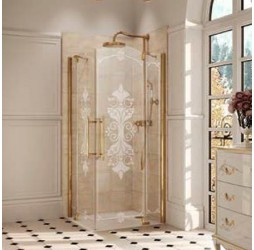 Душевая дверь Huppe Studio Victorian + боковая стенка STmfS+SW 90x190