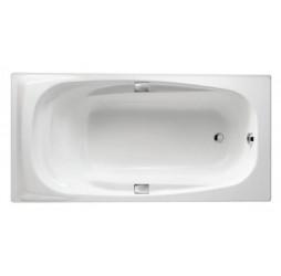 Чугунная ванна Jacob Delafon Super Repos 180x90, с отверстиями для ручек