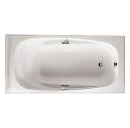 Чугунная ванна Jacob Delafon Repos 180x85, с отверстиями для ручек