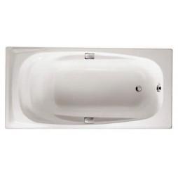Чугунная ванна Jacob Delafon Repos 170х80, с отверстиями для ручек