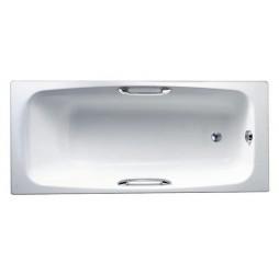 Чугунная ванна Jacob Delafon Diapason 170x75, с отверстиями для ручек