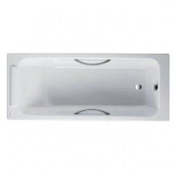 Чугунная ванна Jacob Delafon Parallel 170x70, с отверстиями для ручек