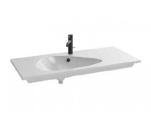 Раковина мебельная Jacob Delafon Nouvelle Vague EXAR112-Z-00, накладная, белый глянцевый, 81 х 51 см