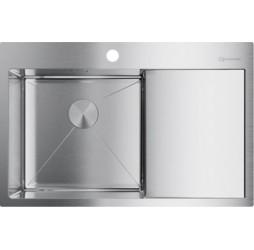 Кухонная мойка Omoikiri Akisame 78-IN-L 4973060 нержавеющая сталь