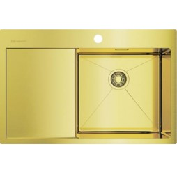 Мойка кухонная Omoikiri Akisame 78-LG-R 4973086 светлое золото