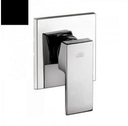 Встраиваемый смеситель для ванны с душем (черный матовый) Paffoni Elle EL010NO