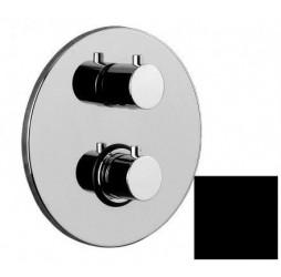 Смеситель Paffoni Light LIQ018NO встраиваемый для душа на 2 выхода, с внутренней частью, цвет черный матовый