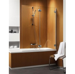 Шторка на ванну Radaway Carena PND/L 130, левая коричневая