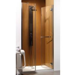 Душевая дверь Radaway Carena DWJ 90, хром коричневая левая/правая