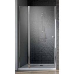 Душевая дверь Radaway EOS II DWJ 80, хром прозрачная левый/правый