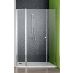Душевая дверь Radaway EOS II DWJS 120, хром прозрачная левый/правый