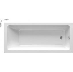 Акриловая ванна Ravak 10° 170x75