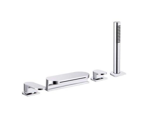 Врезной каскадный смеситель для ванны с душем Ravak Chrome CR 025,00