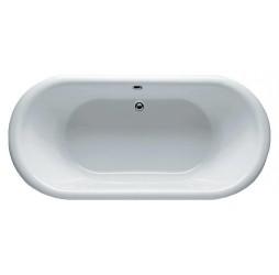 Акриловая ванна Riho Dua 180x86, черная панель