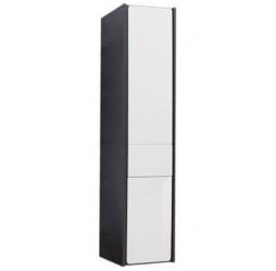 Пенал Roca Ronda 30 см подвесной, цвет белый глянцевый, антрацит
